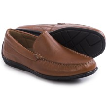 ECCO Classic Leather Moc Shoes - Slip-Ons (For Men) in Lion - Closeouts