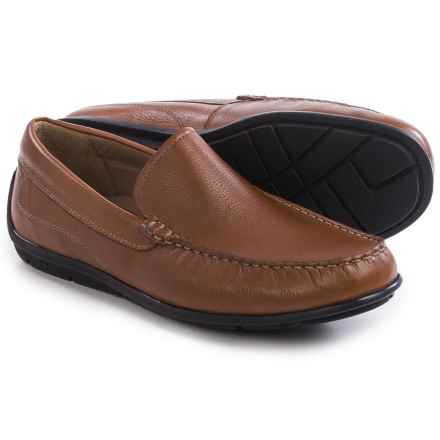 ECCO Classic Moc Shoes - Leather, Slip-Ons (For Men) in Lion - Closeouts