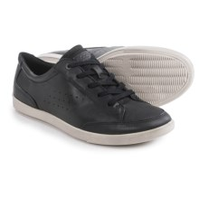 ECCO Collin Leather Shoes - Lace-Ups (For Men) in Black - Closeouts