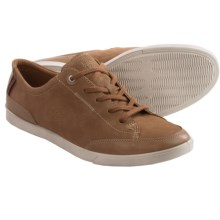 ECCO Collin Leather Shoes - Lace-Ups (For Men) in Camel/Camel - Closeouts