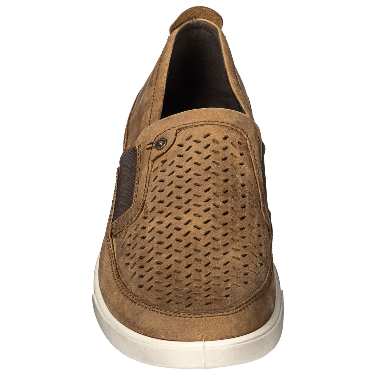 1cd2e834dd648b ECCO Collin Leather Shoes - Slip-Ons (For Men)