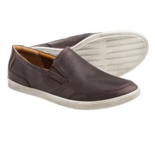 ECCO Collin Slip-On Shoes - Leather (For Men) in Mocha/Cocoa Brown - Closeouts