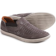 ECCO Collin Trend Loafers - Leather, Slip-Ons (For Men) in Chestnut - Closeouts