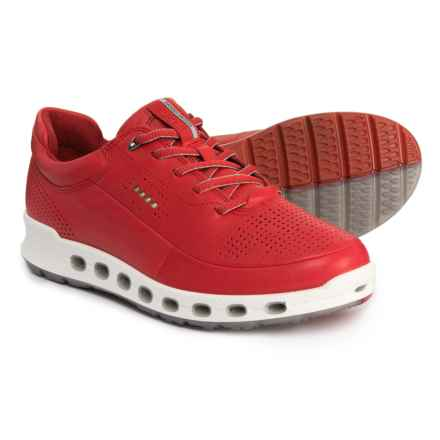ECCO Cool 2.0 Sport Gore-Tex® Sneakers - Waterproof, Leather (For Women) in Tomato Dritton - Closeouts