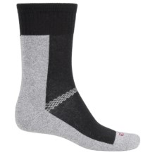 ECCO CoolMax® Sport Crew Socks (For Women) in Black - Closeouts
