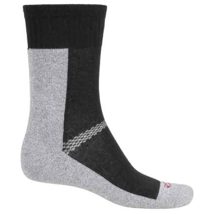 ECCO CoolMax® Sport Socks - Crew (For Women) in Black - Closeouts