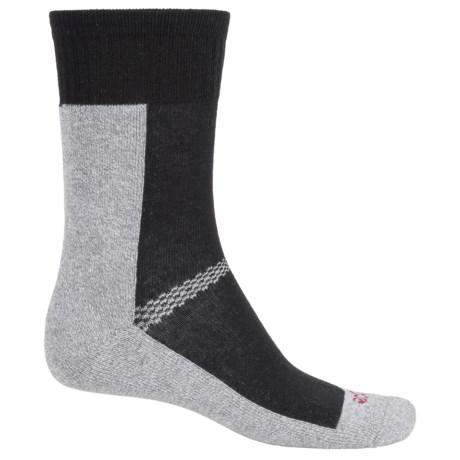ECCO CoolMax® Sport Socks - Crew (For Women) in Black
