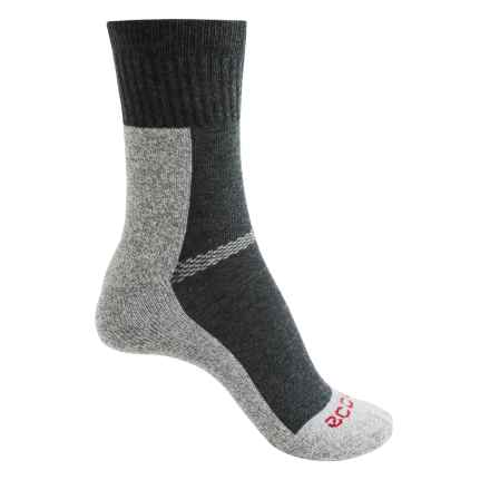 ECCO CoolMax® Sport Socks - Crew (For Women) in Gray - Closeouts