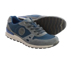 ECCO CS14 Retro Sneakers (For Men) in Titanium/True Navy/Moonless - Closeouts