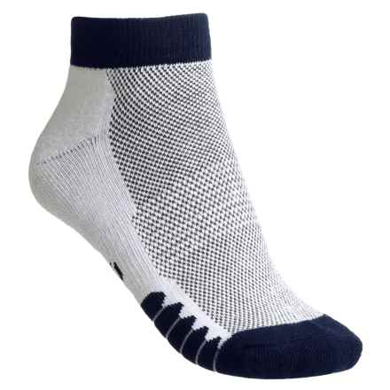 ECCO Cushioned Anklet Golf Socks - Pima Cotton (For Women) in Navy - Closeouts