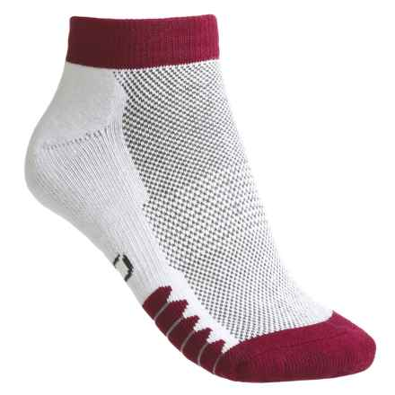 ECCO Cushioned Anklet Golf Socks - Pima Cotton (For Women) in Red - Closeouts