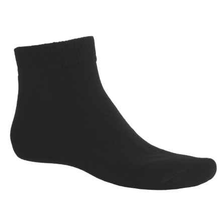 ECCO Cushioned Golf Socks - 3-Pack, Ankle (For Men) in Black/Black/Black - Closeouts