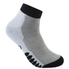 ECCO Cushioned Golf Socks - Pima Cotton, Ankle (For Men) in Black - Closeouts