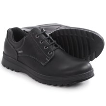ECCO Darren Plain Toe Gore-Tex® Shoes - Waterproof, Leather (For Men) in Black - Closeouts