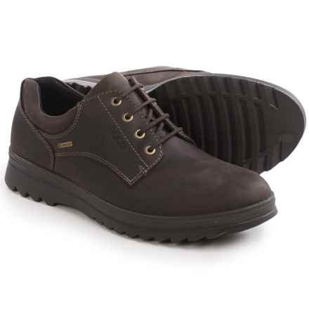 ECCO Darren Plain Toe Gore-Tex® Shoes - Waterproof, Leather (For Men) in Coffee - Closeouts