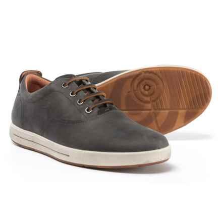 e43942422a39 ECCO Eisner Tie Nubuck Sneakers (For Men) in Titanium Black - Closeouts