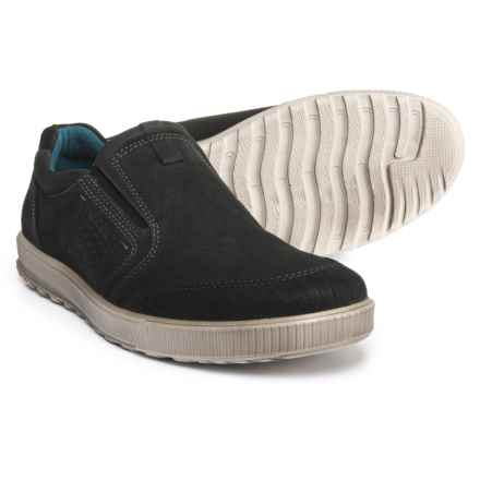 ECCO Ennio Shoes - Slip-Ons (For Men) in Black - Closeouts