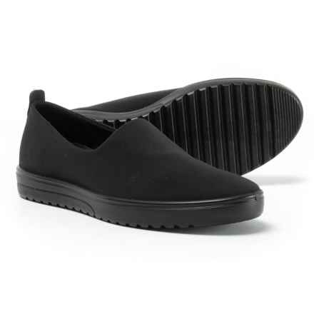 ECCO Fara Slip-On Shoes (For Women) in Black/Black - Closeouts