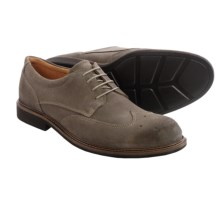 ECCO Findlay Oxford Shoes (For Men) in Dark Clay Super Suede - Closeouts