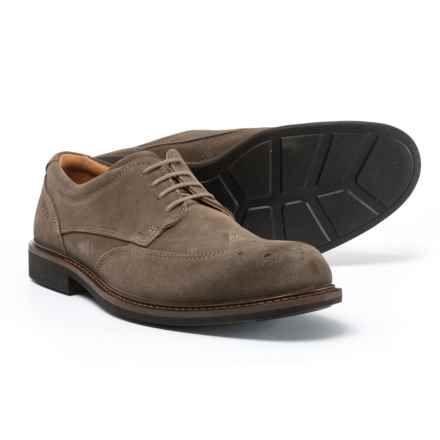 ECCO Findlay Oxford Shoes (For Men) in Dark Clay - Closeouts