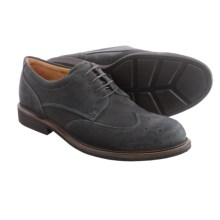 ECCO Findlay Oxford Shoes (For Men) in Moonless Super Suede - Closeouts