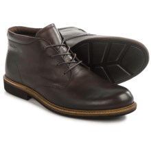 ECCO Findlay Plain-Toe Chukka Boots - Leather (For Men) in Coffee - Closeouts