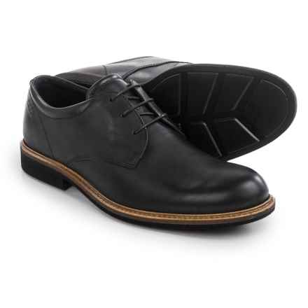 ECCO Findlay Plain-Toe Derby Shoes - Leather (For Men) in Black - Closeouts
