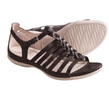 ECCO Flash Fisherman Sandals - Leather (For Women) in Coffee - Closeouts