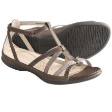 ECCO Flash Gladiator Sandals - Leather (For Women) in Navajo Brown/Moon - Closeouts