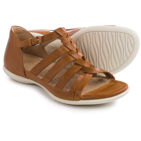 ECCO Flash Woven Sandals Leather (For Women)