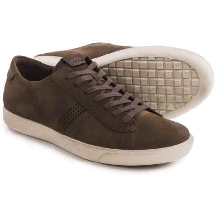 ECCO Gary Casual Sneakers - Leather (For Men) in Coffee - Closeouts