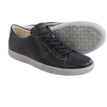 ECCO Gary Sneakers - Leather (For Men) in Black Wrangler - Closeouts
