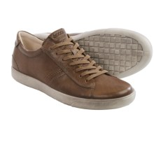 ECCO Gary Sneakers - Leather (For Men) in Navajo Brown Wrangler - Closeouts
