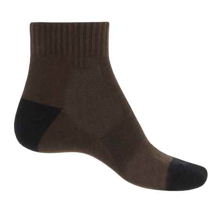 ECCO Golf Cushion Ankle Socks (For Men) in Brown - Closeouts