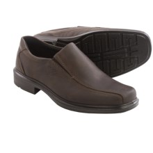 ECCO Helsinki Shoes - Leather, Slip-Ons (For Men) in Coffee - Closeouts