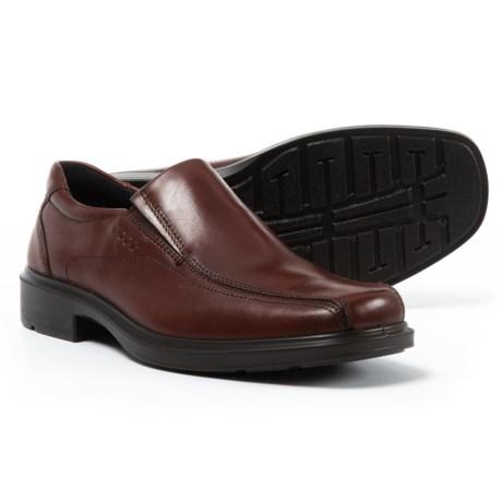 ECCO Helsinki Shoes - Leather, Slip-Ons (For Men) in Rust