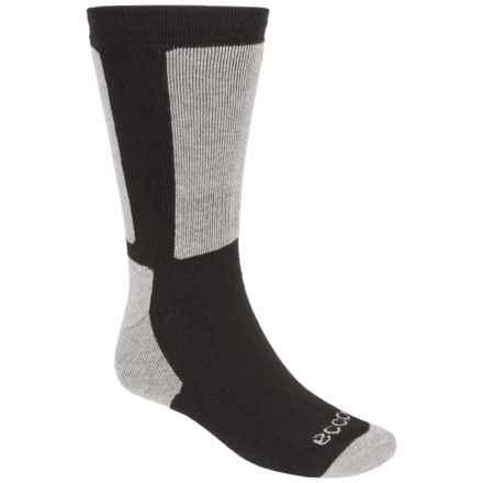 ECCO Hiking Socks - Merino Wool, Mid-Calf (For Men) in Black - Closeouts