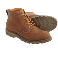 ECCO Holbrok Lace Boots - Leather (For Men) in Cognac - Closeouts