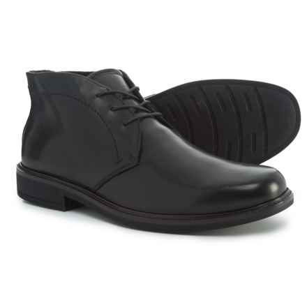 ECCO Holton Chukka Boots - Leather (For Men) in Black - Closeouts