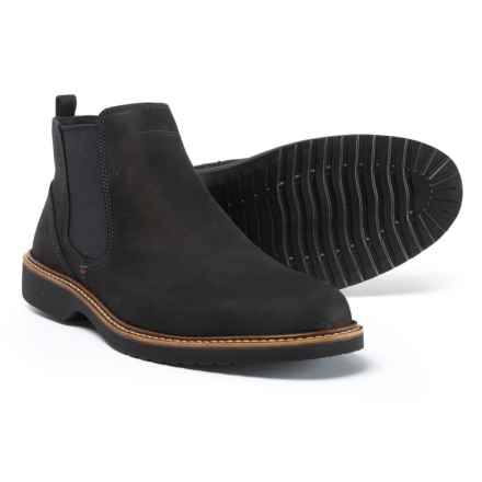 ECCO Ian Chelsea Boots - Leather, Slip-Ons (For Men) in Black - Closeouts