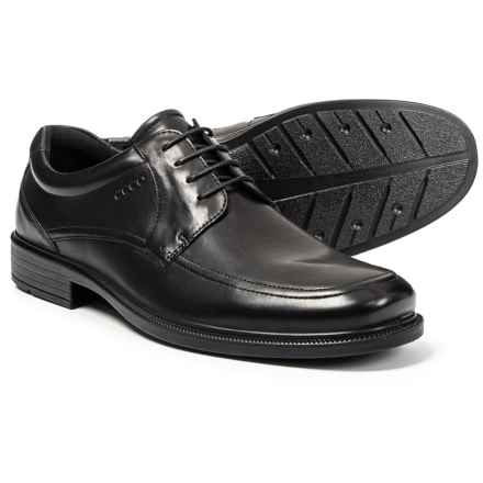 ECCO Inglewood Lace Oxford Shoes - Leather (For Men) in Black - Closeouts