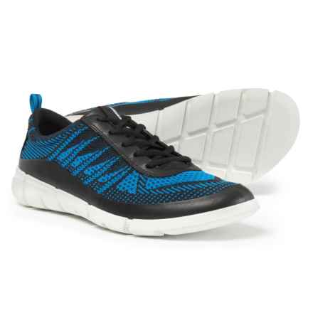 ECCO Intrinsic 1 Sneakers - Leather (For Men) in Black/Dynasty - Closeouts