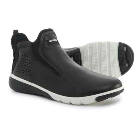ECCO Intrinsic 2 Mid Shoes - Leather, Slip-Ons (For Women) in Black - Closeouts