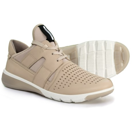 ECCO Intrinsic 2 Textile Sneakers (For Women) in Oyester/Racer