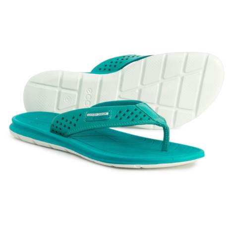 7474bb5c781 ECCO Intrinsic Flip-Flops - Leather (For Women) in Fanfare