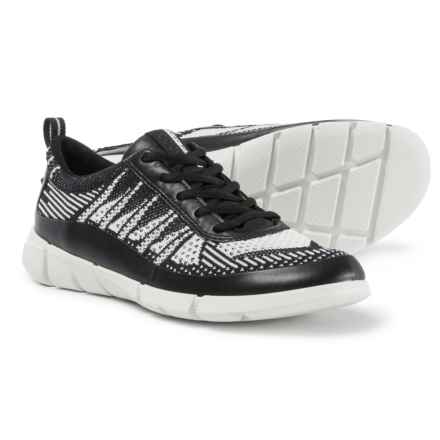 ECCO Intrinsic Karma Sneakers (For Women) in Black/White - Closeouts