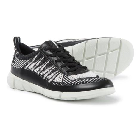 ECCO Intrinsic Karma Sneakers (For Women) in Black/White