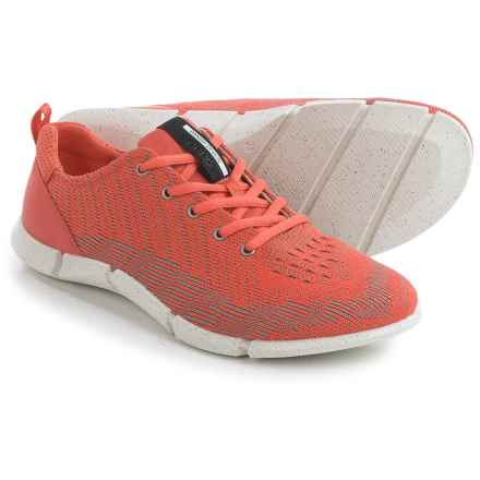 ECCO Intrinsic Karma Sneakers (For Women) in Coral - Closeouts