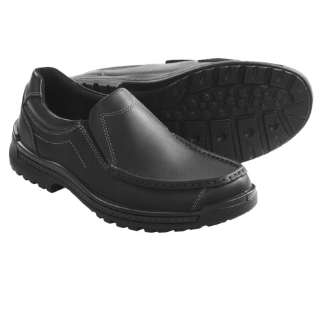 ECCO Iron Slip-On Shoes (For Men) in Black