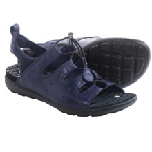 ECCO Jab Toggle Sandals (For Women) in Midnight/Marine - Closeouts